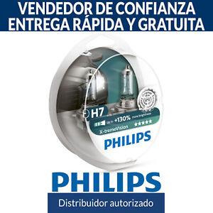 Philips Xtreme Vision +130% H7 Bombillas Faros Halogeno (Doble) 12972XV+S2