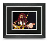 Ian Anderson Signed 10x8 Framed Photo Display Jethro Tull Autograph Memorabilia