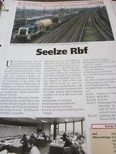 Bahnhofmit Gleisplan N Seelze Rbf Rangierbahnhof Niedersachsen 10S