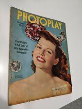 Photoplay October 1949 (Rita Hayworth)