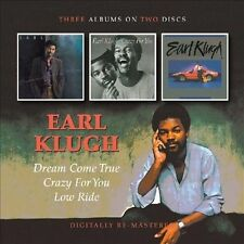 EARL KLUGH - Dream Come True / Crazy For You / Low Ride - CD (2011) / UK Issue