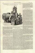 1897 Independent Surface Condensing Plant Browett Lindley Crane Safety Hook
