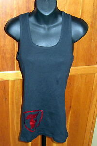 Indy 500 Indianapolis Motor Speedway FIRESTONE Bella Ladies F Logo Tank SMALL