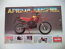 advertising Pubblicità 1986 MOTO APRILIA TUAREG 125