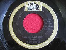 SOUL 45 - MARY WELLS - EVERLOVIN' BOY / USE YOUR HEAD - 20TH CENTURY FOX 555