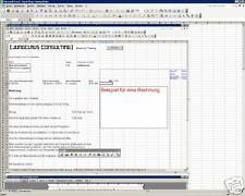 Ebay Auktionsabwicklung Software (Excel autom. Rechn.)