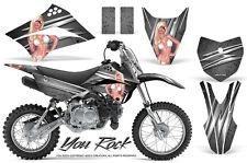 Kawasaki KLX110L KLX 110 L 2010-2017 Graphics Kit CREATORX Decals Stickers YRS