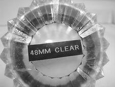 48mm TRANSPARENTE Tiffen óptico Plano Recubierto Múltiple Vidrio Redondo Filtro