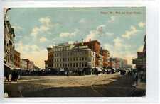 (Gf125-361) Main & Broad Streets, BANGOR, Maine, USA 1911 Used G