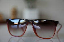 Brown Frame, Gradient Reddish Lenses #1