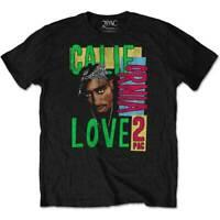 Tupac California Love Official 2Pac Shakur All Eyes On Me Mens Black T-shirt