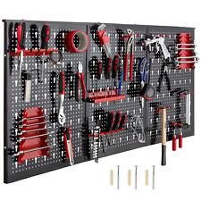 Werkzeugwand Lochwand Werkstattwand Werkstatt 3 Lochwände Hakensatz 17 Teile
