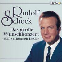 RUDOLF SCHOCK - DAS GROßE WUNSCHKONZERT-SEINE SCHÖNSTEN LIEDER 2 CD NEU