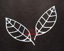 Gummiapan Stanzschablone D160414 - Blumen Blatt Blätter Herbst Stanzer Die