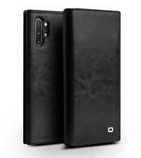 Original Genuine Leather Flip Case Cover for Samsung Galaxy Note 10 + QIALINO