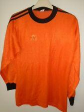 Vintage Adidas Orange Holland Shirt Medium Made in West Germany