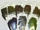 NATURE'S SPIRIT GRIZZLY HEN CAPES SOFT HACKLE FOR FLY TYING YOU PICK COLOR