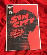 FRANK MILLER'S SIN CITY JUST ANOTHER SATURDAY NIGHT~WIZARD 1/2~LTD EDITION~NM