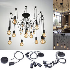 Industria Retro Chandelier Fans Light Plafonniers lustres Lustre Plafond Lumière