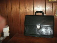 ALESSANDRO VENANZI LEATHER CONTINENTAL BRIEFCASE SINGLE BUCKLE style #8853 NEW