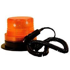Blazer 12V LED ALERT BEACON • ORANGE AMBER EMERGENCY STROBE LIGHT Magnetic Mount