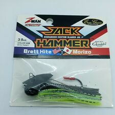 Z-Man Evergreen Jack Hammer Chatterbait 3/8 oz. Color #08 Bhite Delight