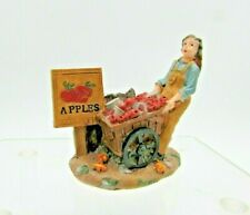 Autumn Accents Harvest Accessory, Woman with Apple Cart, 565-4082