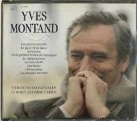 YVES MONTAND : VERSIONS ORIGINALES COFFRET 2 CD - [ CD BEST OF ]