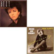 ★☆★ CD Single Jakie QUARTZ - BUZY Mise au point - Body physical - PWL REMIX ★☆★