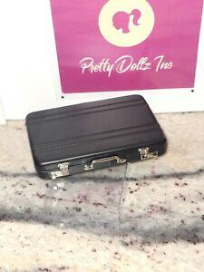 Fashion Royalty Homme Black Attache Case Brief Case Poppy Parker Arm Candy Spy