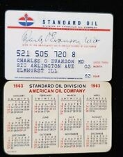 Standard Oil Credit Card exp 63♡Free Shipping♡cc180