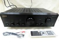 ONKYO A-9377 Integrated Amp Amplifier PHONO BLUETOOTH WRAT 180W Superb Sound