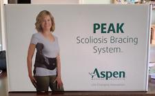 Aspen Peak Scoliosis Bracing System Back Brace Adjustable * NEW IN OPEN BOX