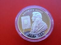 *Silbermedaille ca.15,2 gr. Silber PP* Heinrich Heine