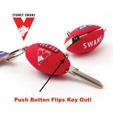 Sydney Swans Football FLIP House Key Blank-IN STOCK NOW! Free Post