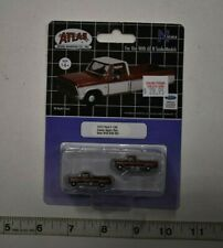 N Scale Atlas 60000091 * 1973 Ford F-100, Candy Apple Red * Pkg. 2