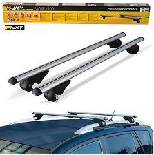 M-way toit voiture aluminium verrouillables rail pour rack bars pour MITSUBISHI SPACE WAGON 91 >