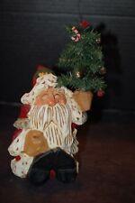 David Frykman DF1037 Santa With Christmas Tree Figurine