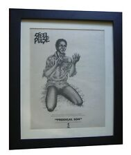 STEEL PULSE+Prodigal+POSTER+AD+RARE+ORIGINAL 1978+QUALITY FRAMED+FAST WORLD SHIP
