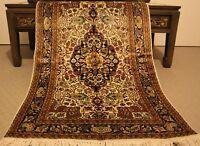 Persian Handmade Knotted Natural Silk Rug Carpet,Antique Oriental Floor Tribal