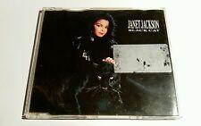 Janet Jackson Black Cat 3 TRACK CD MAXI UE incl. MEGAMIX 390572-2