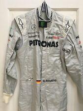 New listing Nico Rosberg used Alpinestars Mercedes F1 race suit / overalls 2011