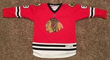 ($70) REEBOK Chicago Blackhawks PATRICK KANE NHL Jersey #88 YOUTH KIDS BOYS L/XL
