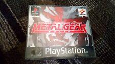 Metal Gear Solid ps1 PSOne getestet ohne Handbuch