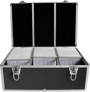 MediaRange DJ Case Koffer schwarz für 500 CD / DVD / BD Aufbewahrungs Koffer
