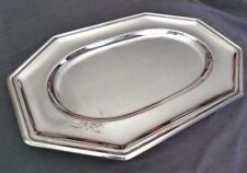 GALLIA CHRISTOFLE ART DECO Large Serving platter 40x27cm // Plat de Service