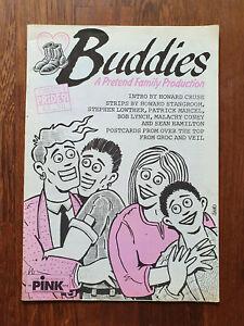 BUDDIES Issue 1 PRIDE 91 Gay Comix, Howard Cruse, Stangroom, Groc & Veil LGBTQ