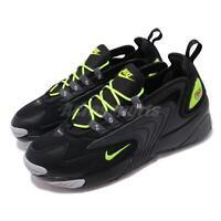 Nike Zoom 2K Black Volt Anthracite Men Running Lifestyle Shoe Sneaker AO0269-008