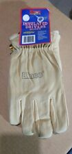 Kinco 94HK-L Insulated Drivers Gloves, Pigskin Large, Gold NOS - Some Shelf Wear