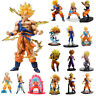 Dragon Ball Z Super Saiyan Son Goku Gohan Vegeta Figure Collection Toy Kids Gift